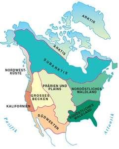 Indianerstamme Nordamerikas Karte.Indianer Und Europaer